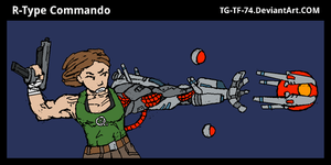 R-Type Commando by JohnColburn
