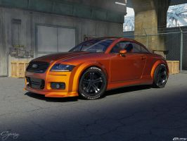 Audi TT tuned 3 by cipriany