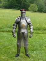 full armor front by Wolkenfels-Stock