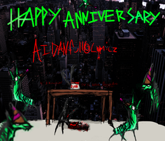 Aids 2 Year Anniversary In the Sky by cyborghyena
