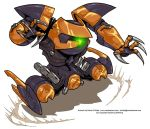 Hovering Mecha by Mecha-Zone