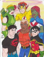 Young Justice by Crash2014