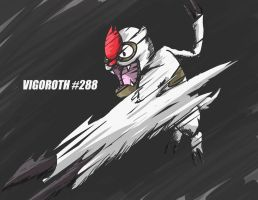 Vigoroth by Capitan-Mark-Antony