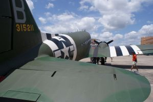 Last one today of that C-47A by Valder137