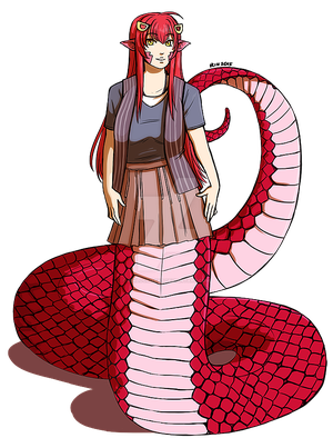 Miia (Commission) by RinLockhart