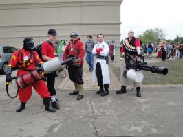 AN 2011: Team Fortress 2 by CrimsonLayers