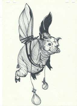 Pigs Can Fly, Tho.. by AcidGabbie