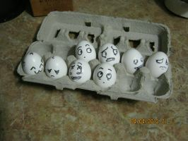 Human Eggs by Tranzopus