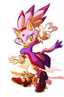 Blaze the Cat .:Collab:. by PhaennaMir