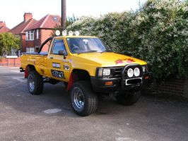 Toyota Monster Truck by Roadknight