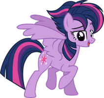 Twillight Sparkle (new mane seductive look vector) by davidsfire
