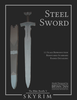 Skyrim - Steel Sword Paper Replica by RocketmanTan