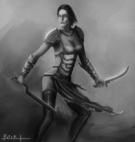 warrior by St-Pete