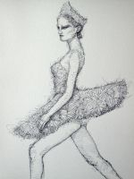 black swan by ojerry