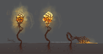 Glowing Plant Concept by delira