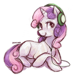 Sweetie Belle by johling