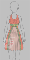 Outfit adoptable sundress $.50! [pricecut!!] by applestruddles
