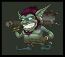 Goblin Gangsta by IKorteXI