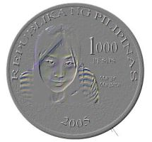 The new 1000 peso coin... by margemagtoto