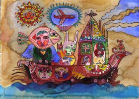 ship of fools who are lovers by raamon