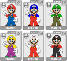 Character Select: Mario by koopaul