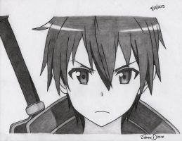 AT: Kirito by RoXyBeaR147