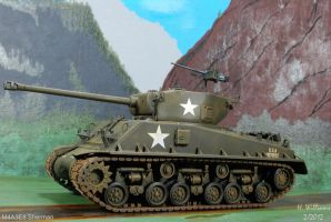 M4A3E8 Sherman Left by 12jack12