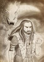 Request - Thorin and Smaug by Chouly-only