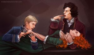 Sherlock BBC - Interview with Vampires by maXKennedy
