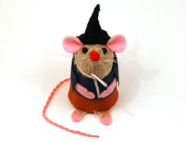 Scarecrow Wizard of Oz Mouse by The-House-of-Mouse