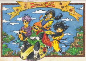 Dragon Ball by Kemys