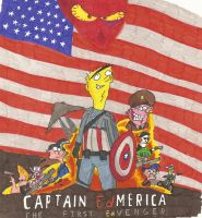 Captain ED-merica: The First ED-venger by greenth1ng