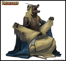Pathfinder: Becoming a Lycanthrope by CavalierediSpade