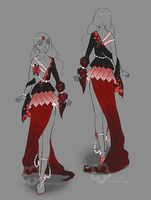 Dress Design Auction - closed by Nahemii-san