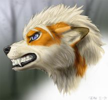 Anthro me portrait by Tacimur