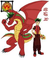 American Dragon by DoMaDiBo