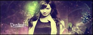Demi Lovato Signature by janisar22