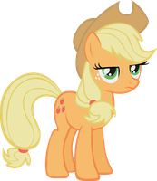 Applejack - Not Impressed by midnite99