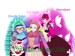 MH X MMD_Hijab Monsters by FatinFantine