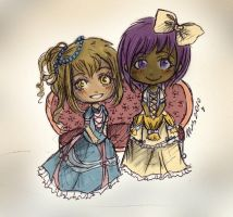 Commission - Tinnae and Celae by MikachuAttack