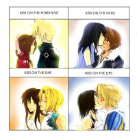 FF kiss meme by Aoi-tama