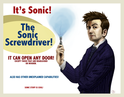 The Sonic Screwdriver by ShinrinRei739