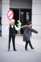 Duarara Cosplay:GET BACK HERE!! by Awesome-Vivi