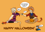 Happy Halloween by LNLN