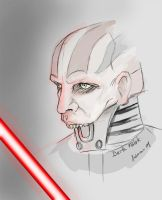 Darth Malak Study by archerion