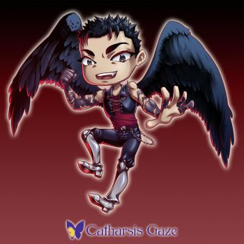 Chibi Angel OC by CatharsisGaze