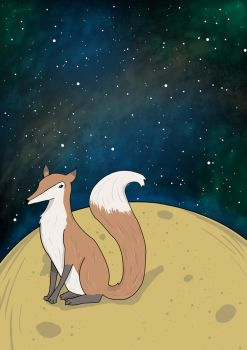 The little prince- Fox by marinalemon