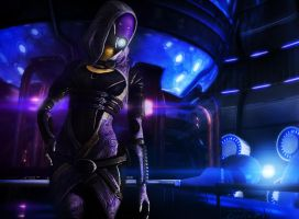 Tali'Zorah vas Normandy by Leo-Fina