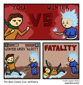 The Best Comics Ever: WINter by SatyrArs