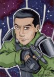Allegiances: Aiden Morrison ACEO by Winds-Blade